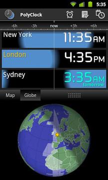 世界时钟PolyClock