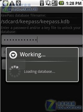 密码管理器KeePassDroid