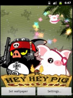 桌面宠物可爱猪
