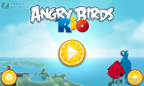 愤怒的小鸟在里约