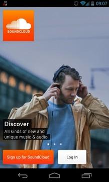 SoundCloud语音社交