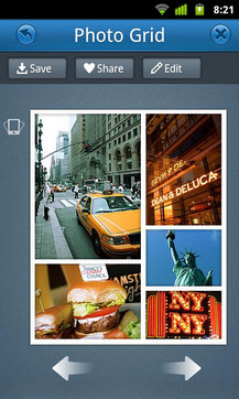 Photo Grid相片组合
