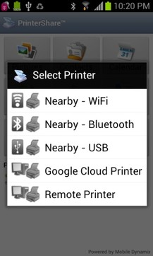 PrinterShare移动打印
