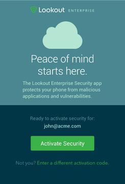 Lookout企业安全防护