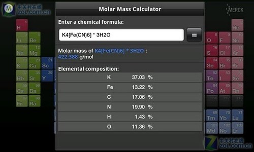 元素周期表hd 安卓版元素周期表hd2 0 2下载 Zol手机软件