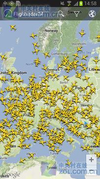 全球航班雷达