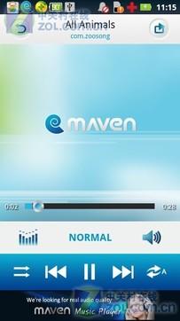 MAVEN音乐播放器