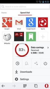 Opera Mini浏览器