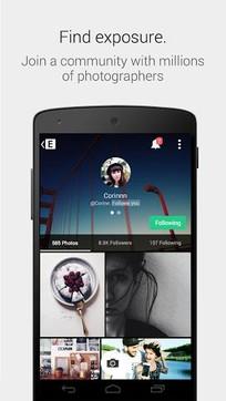 EyeEm照片滤镜相机8.0.3最新版手机APP免费下载