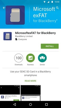 黑莓微软exFAT文件系统驱动Exfat Driver