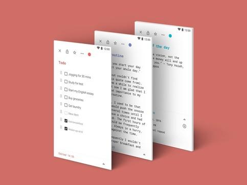 彩色笔记Colorful notes