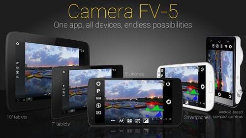 Camera FV-5专业相机