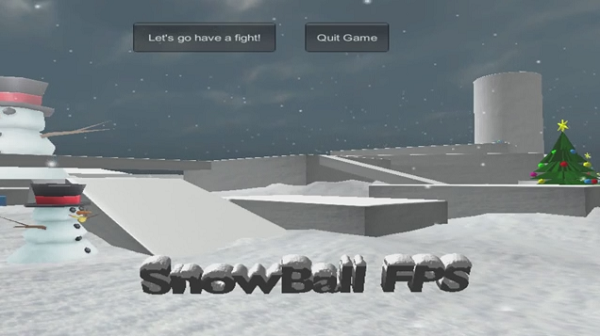 SnowBall fighting FPS