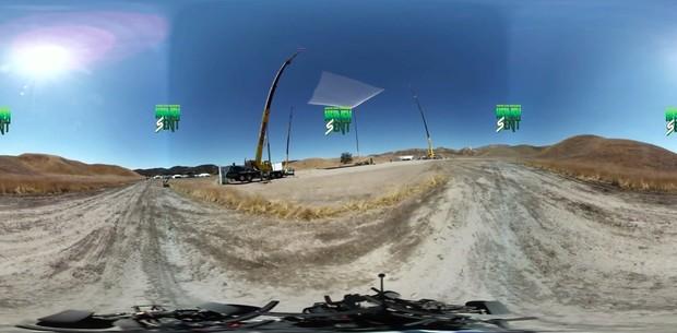无降落伞高空跳落VR视频