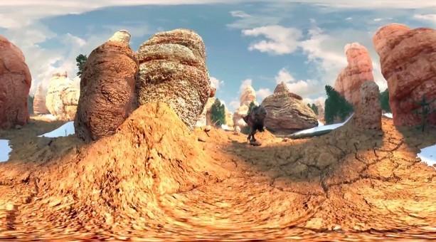逃离恐龙谷VR视频